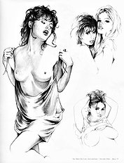 Sketchbook 1 bad girls drawn nicely (Na)