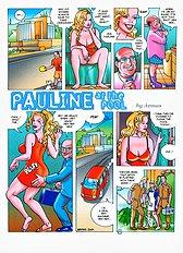 Pauline at the pool (Armas)