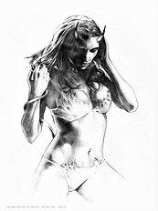 Sketchbook 1 bad girls drawn nicely (Na)